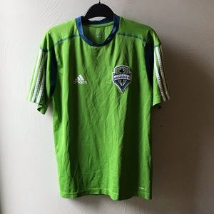 Adidas Seattle Sounders soccer jersey
